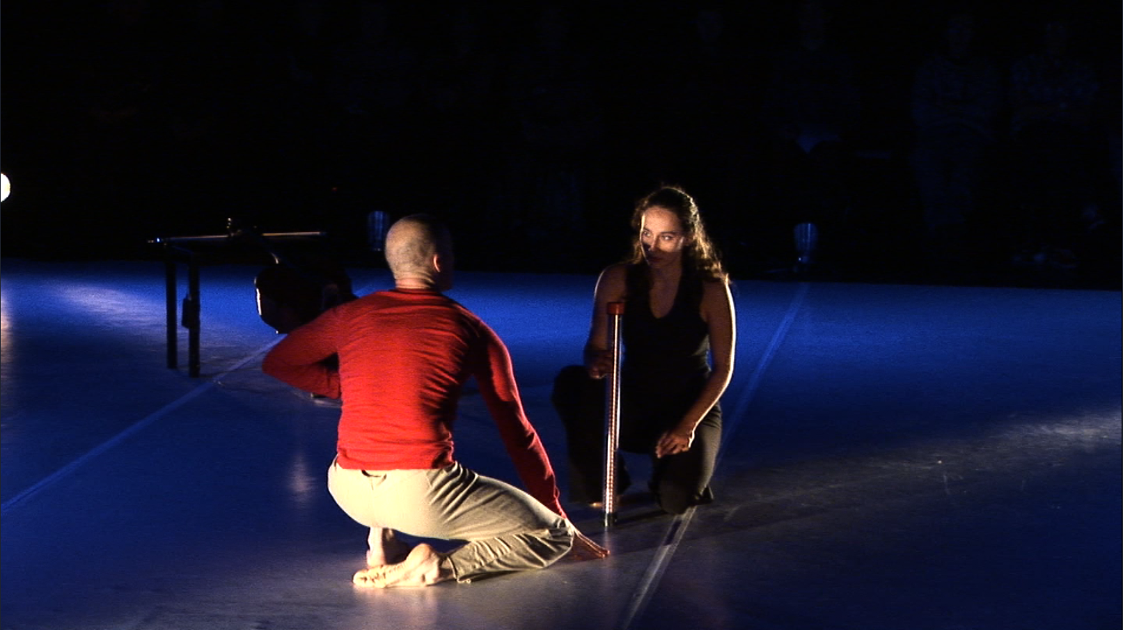 "A screenshot from ""Duo pour un violoncelle et un danseur"""